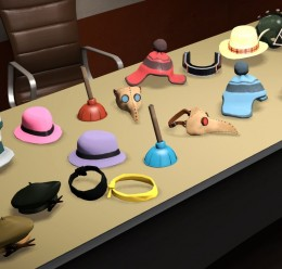 uncolored_hats_-_april_17_2012 For Garry's Mod Image 1