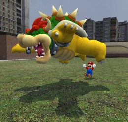 Super Mario Galaxy Bowser For Garry's Mod Image 2