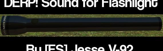 Derp Flashlight Sound