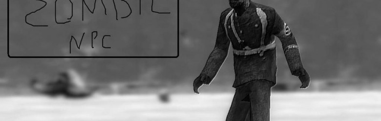 Nazi Zombies SNPC For Garry's Mod Image 1