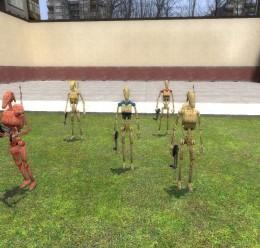 Battle droid npc pack For Garry's Mod Image 1