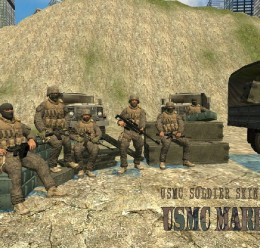 COD4 USMC SKIN PACK.zip For Garry's Mod Image 1