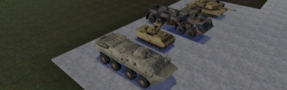 driveable military models dup