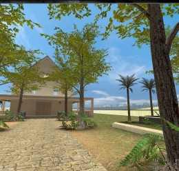 gm_blueishhouse.zip.zip For Garry's Mod Image 1