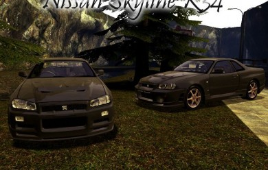 Nissan Skyline R34 For Garry's Mod Image 1