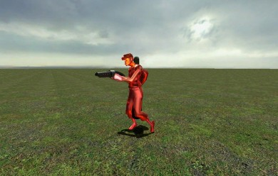 walking_scout_with_scattergun. For Garry's Mod Image 1