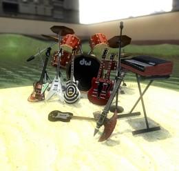 Guitar Hero Models.zip For Garry's Mod Image 1