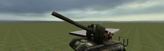 Drivable 40K Artillery