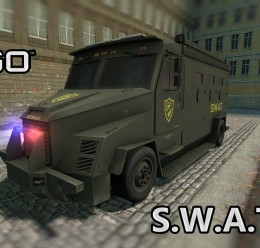 SWAT Van From CS:GO (SCars) For Garry's Mod Image 1