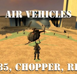 Air Vehicles For Garry's Mod Image 1