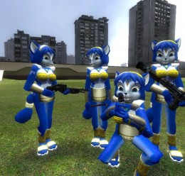 krystal_player_mdl_and_npc_v2. For Garry's Mod Image 1