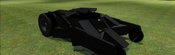 Drivable Batman Tumbler