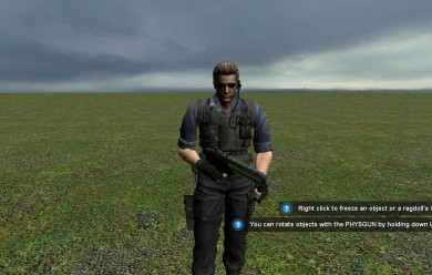 albert_wesker_npc.zip For Garry's Mod Image 1