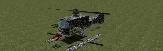 Camo Battle Helicopter Fix