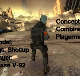 Concept Combine Player For Garry's Mod Image 2