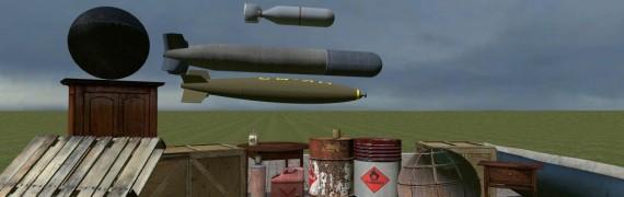 Explosives,breakable spawnlist