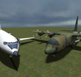 flyable_l4d_planes.zip For Garry's Mod Image 1
