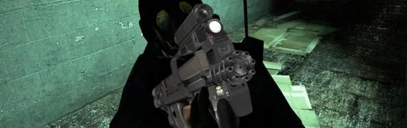 P90 With Minigun Barrel V2
