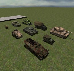 WW2 Vehicles Pack For Garry's Mod Image 1