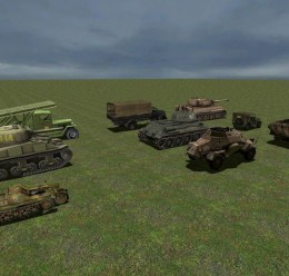 WW2 Vehicles Pack For Garry's Mod Image 2