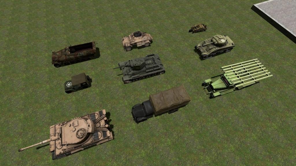WW2 Vehicles Pack | garrysmods.org