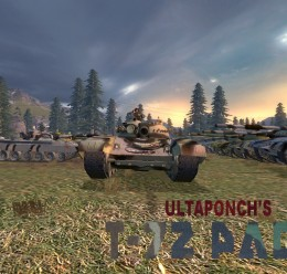 UltaPonch's T72 Pack.zip For Garry's Mod Image 1