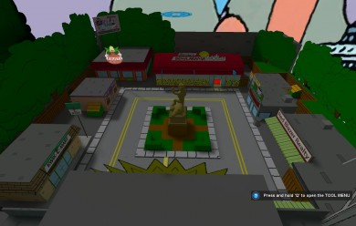 simpsons_map.zip For Garry's Mod Image 2