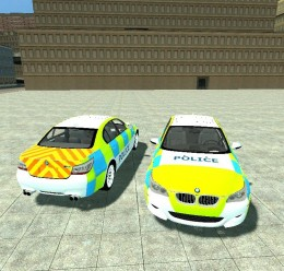 bmw_m5_e60_british_police_skin For Garry's Mod Image 1