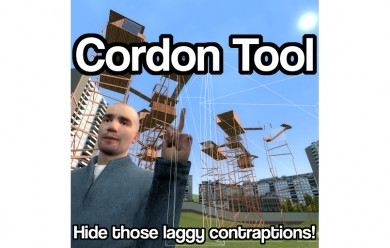 Cordon Tool For Garry's Mod Image 1