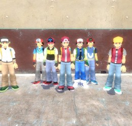 pokemon_trainers.zip For Garry's Mod Image 1