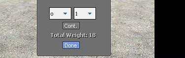 Substance Weight Calculator