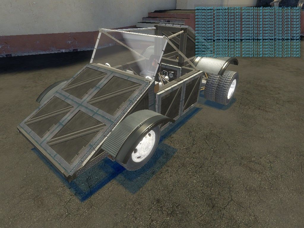 garrys mods how to make a car