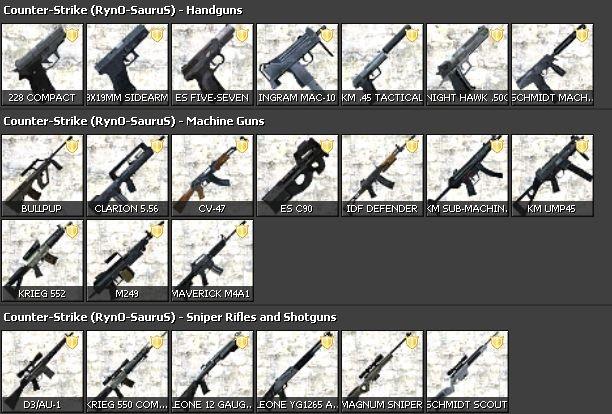 [CSS] Extra Guns - AlliedModders
