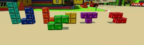 TetrisBlocks(with real texture