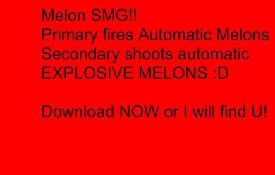 melon_smg!.zip For Garry's Mod Image 1