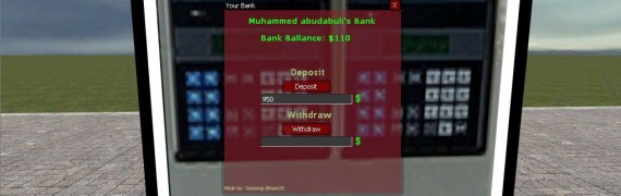 DarkRP Bank System v1.1