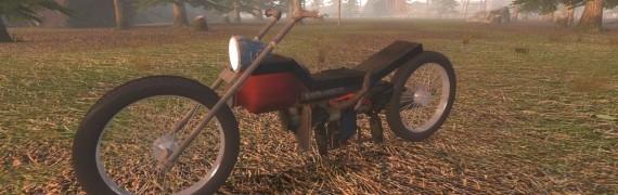 Bucks' Ol' Motorcycle