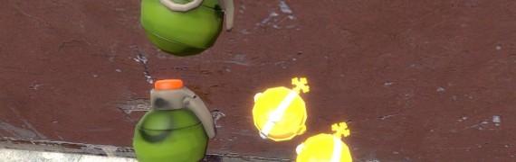 TF2 Worms 3D grenade hexed