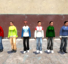 normal_refugee_clothes.zip For Garry's Mod Image 2
