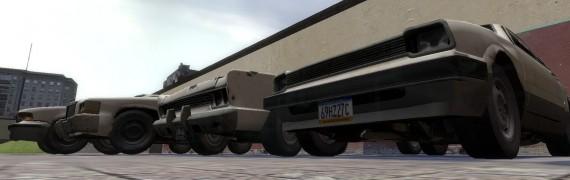 L4D Drivable cars