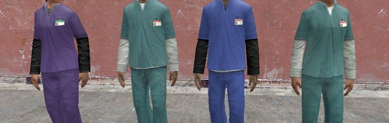 hospital_scrubs.zip For Garry's Mod Image 1