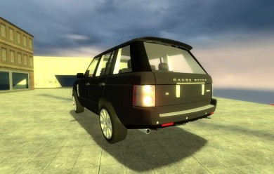 Drivable LandRover RangeRover For Garry's Mod Image 2