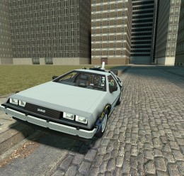 drivable_delorean_v2.zip For Garry's Mod Image 1