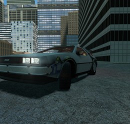 drivable_delorean_v2.zip For Garry's Mod Image 2