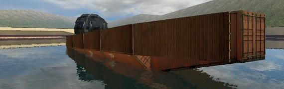 Massive Steel Boat (AD)