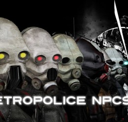 metropolice_npc's.zip For Garry's Mod Image 1