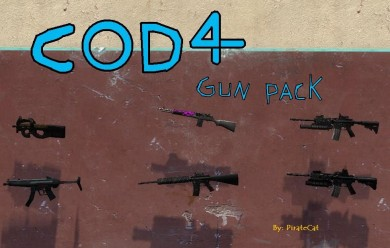 Piratecats Cod 4 Guns For Garry's Mod Image 1