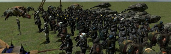 Combine Infantry NPCS