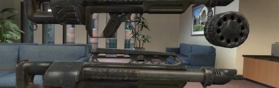 FONV Pancor Jackhammer shotgun