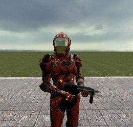 ME2 Inferno Armour Playermodel For Garry's Mod Image 1